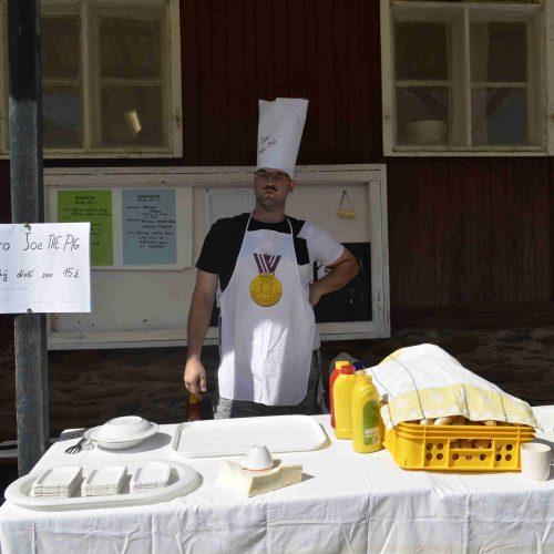 Catering Prasete Džoua stavěl na prověřených surovinách od lokálních dodavatelů a osobním přístupu personálu.