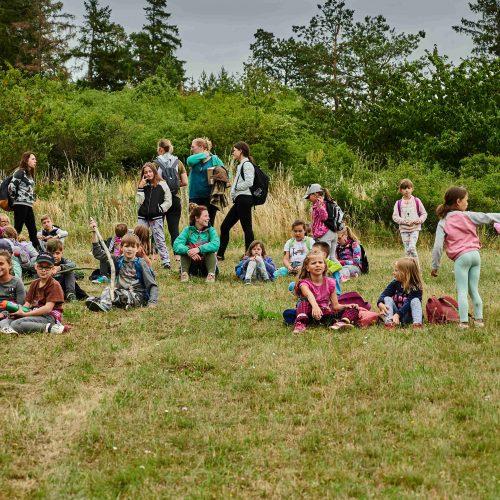 Po obědě se oddíly vydaly do širšího okolí tábora.