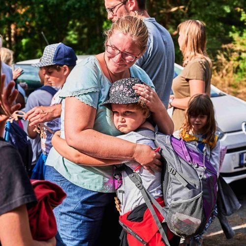 Nejlepší vizitkou tábora je, když při odjezdu přichází dojetí, smutek a slzy.