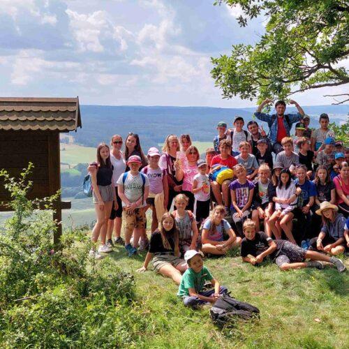 Chlumská Hora se stala cílem pro střední i mladší střední oddíly. Celkem okruh znamenal ušlápnutí trasy 27 km.