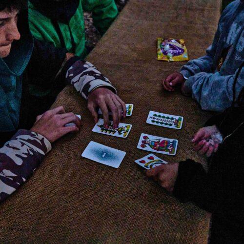 Rychle se začalo smrákat, to hrálo programu do karet. Bylo tedy třeba sebrat veškerou odvahu a snažit se úspěšně projít všech deset úkolů. Na konci čekala odměna.